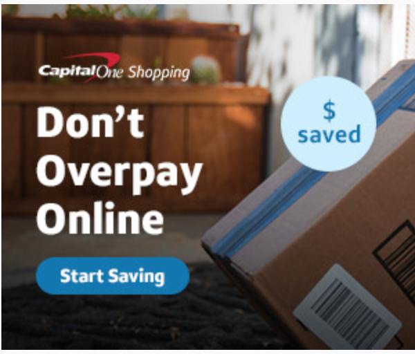 Capital One Promo codes Shopping Browser Extension