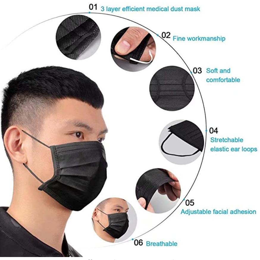 face masks disposable amazon