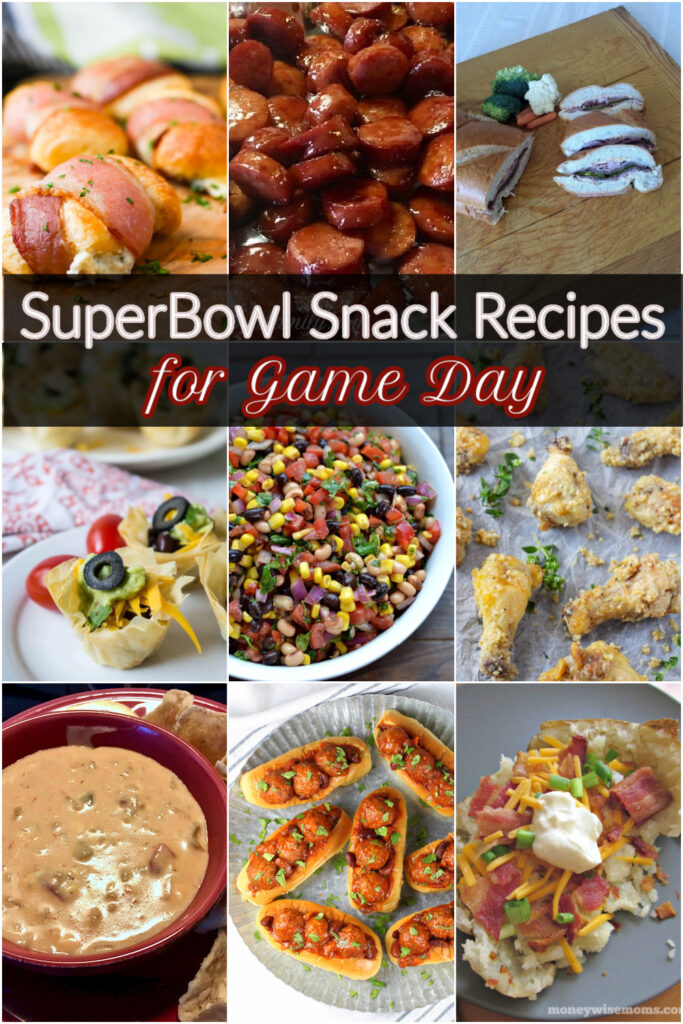 SuperBowl Game Day Recipes &. Snack Ideas