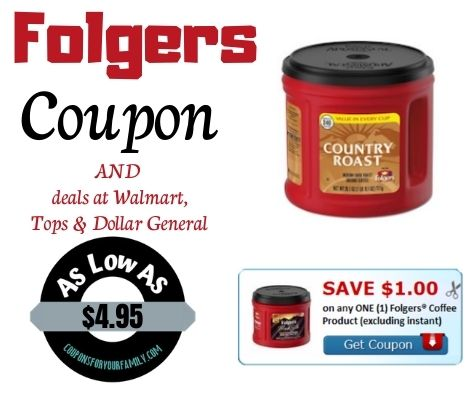 folgers coffee coupon