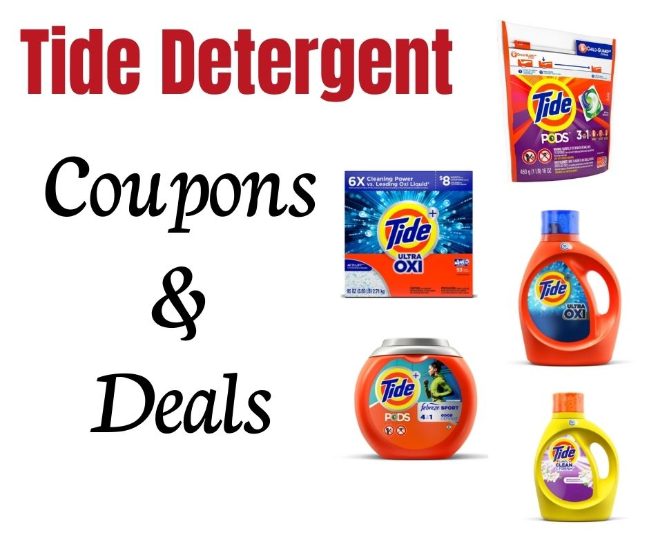 Printable Tide Detergent and Pods coupons