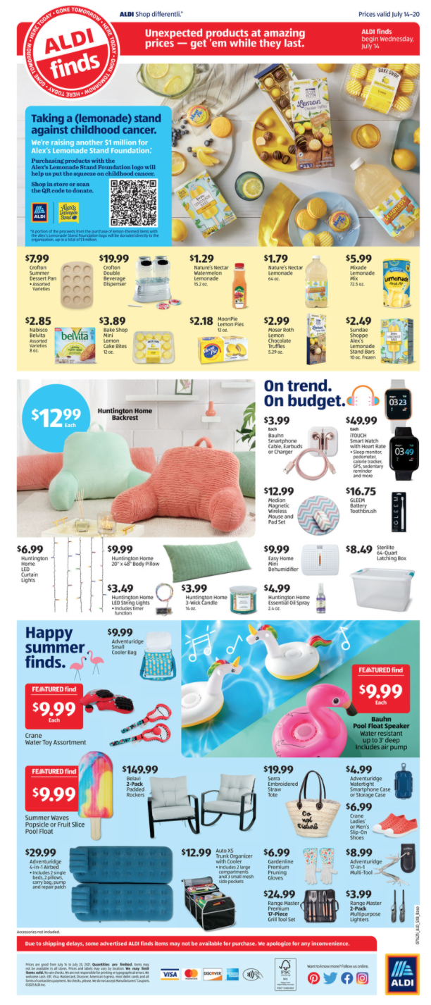 Aldi Weekly Grocery Ad Weds 7:14 pg 2