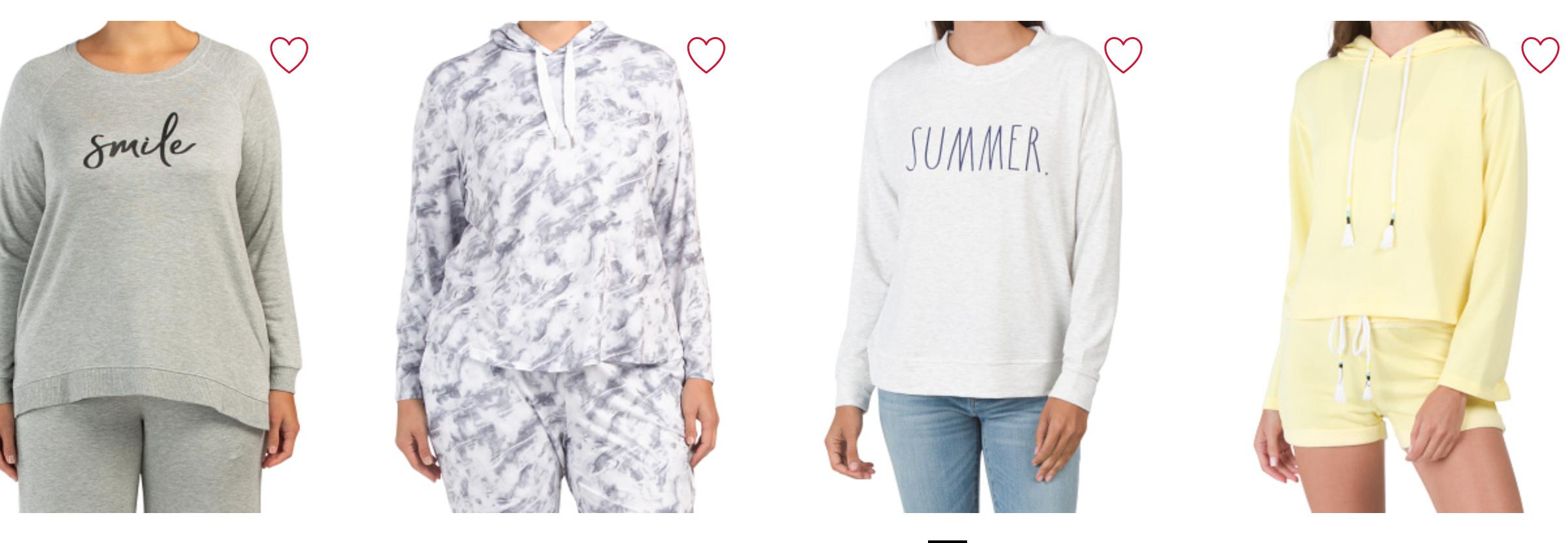 TJ Maxx hoodies for $10