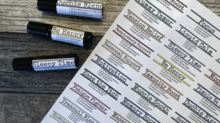 printable essential oil roller bottle labels